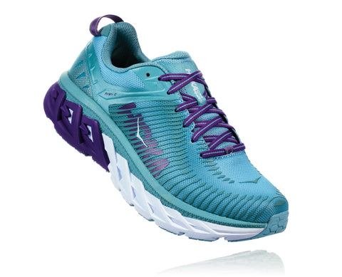 Hoka One One Women's Arahi 2 - Aquifer/Sea Angel (1019276-ASAN)