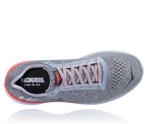 Hoka One One Women's Cavu - Lunar Rock/Black (1019282-LRBL)