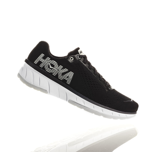 Hoka One One Women's Cavu - Black/White (1019282-BWHT)