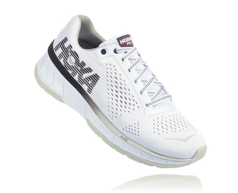 Hoka One One Women's Cavu - White/Blackened Pearl (1019282-WBPR)
