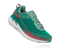 Hoka One One Women's Clifton 5 - Green-Blue Slate/Canton (1093756-GSCN)