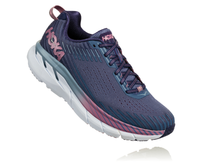 Hoka One One Women's Clifton 5 Wide (D) - Marlin/Blue Ribbon (1093758-MBRB)