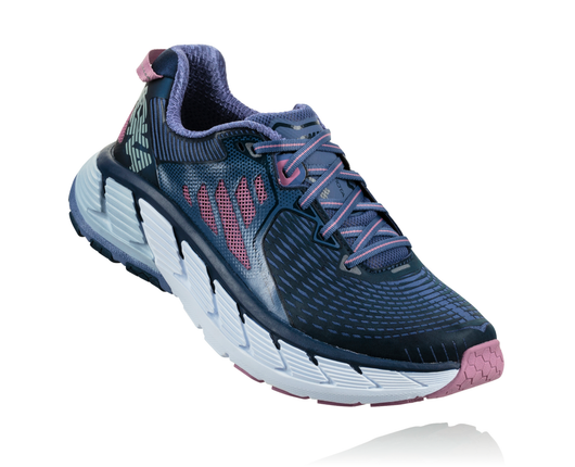 Hoka One One Women's Gaviota - Marlin/Dress Blue (1016303-MDSB)