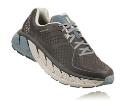 Hoka One One Women's Gaviota LTR Wide (D) - Charcoal/Tradewinds (1093650-CTDW)