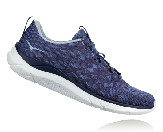 Hoka One One Women's Hupana Knit Jacquard - Marlin/Blue Ribbon (1093791-MBRB)