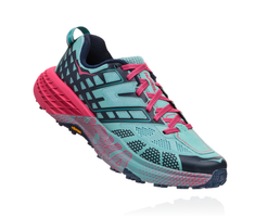 Hoka One One Women's Speedgoat 2 - Canton/Dress Blues (1016796-CDBS)