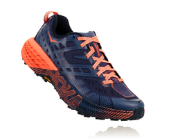 Hoka One One Women's Speedgoat 2 - Marlin/Blue Ribbon (1016796-MBRB)