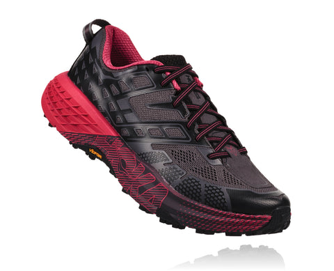 Hoka One One Women's Speedgoat 2 - Black/Azalea (1016796-BAZL)