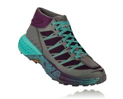 Hoka One One Women's Speedgoat Mid WP - Grape Royale/Alloy (1093761-GRAL)