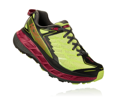 Hoka One One Women's Stinson ATR 4 - Sharp Green/Black (1016789-SGBLC)
