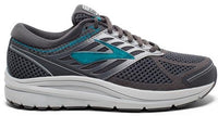 Brooks Women's Addiction 13 Wide (D) - Ebony/Silver/Pagoda Blue (1202531D092)