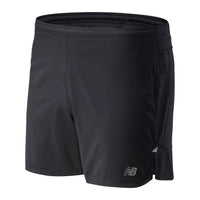 New Balance Men's Impact Run 5 Inch Short - Black (MS01241-BK)