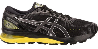 Asics Men's Gel-Nimbus 21 - Black/Neon Spark (1011A169.003)