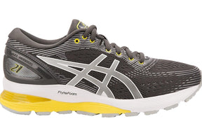 Women's Asics Gel-Nimbus 21 Running Shoe Dark Grey/Mid Grey 1012A156.021