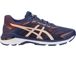 Asics Men's GT-2000 7 Indigo - Blue/Shocking Orange (1011A158.400)
