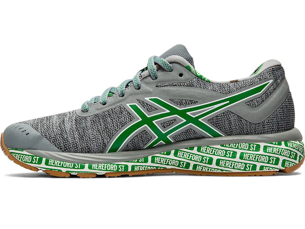 wholesale dealer d9c68 d5829 Asics Men's 2019 Boston Edition Gel-Cumulus 20 - Stone Grey/White  (1011A692.020)