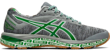Asics Men's Cumulus 20 SMU - Stone Gray/White (1011A692.020) Boston Marathon Running Shoe 2019