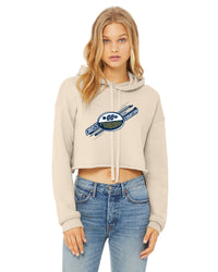 BELLA + CANVAS LADIES CROPPED HOODIE - CAN-FOXBOROXC-B7502