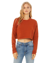BELLA + CANVAS LADIES CROPPED CREW - CAN-BOUTIQUE-B7503