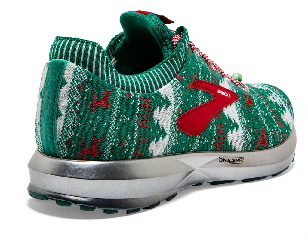 87fe1bba18d Brooks Women s Levitate 2 Ugly Sweater - Green White Red (1202791B322) –  Marathon Sports