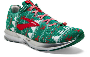 Brooks Women's Levitate 2 Ugly Sweater - Green/White/Red (1202791B322)