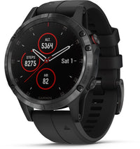 Garmin Fenix 5 Plus Sapphire Premium Multisport GPS Watch - Black/Black (010-01988-00)