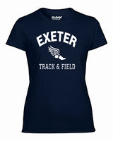 EXETER WOMEN'S PERFORMANCE T-SHIRT - TS-EXETER-G420L-NAVY
