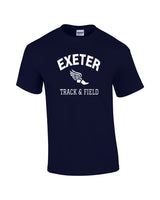 EXETER MEN'S SHORT SLEEVE T-SHIRT - TS-EXETER-G500-NAVY