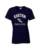 EXETER WOMEN'S SHORT SLEEVE T-SHIRT - TS-EXETER-G500L-NAVY