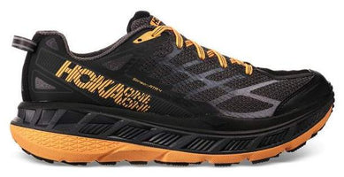 Hoka One One Men's Stinson ATR 4 - Black/Kumquat (1016788-BKMQ)