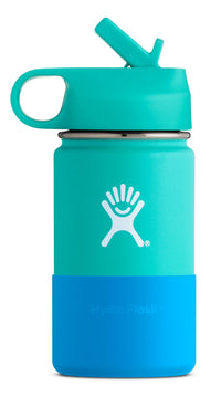 Hydro Flask 12 oz Kids Wide Mouth Straw Lid - Mint (W12SWBB435)