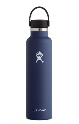 Hydro Flask 24 oz Standard Mouth Stainless Steel Water Bottle - Cobalt (S24SX407)