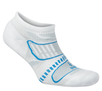 Balega Ultralight No Show Running Socks - (8924-2630) White/French Blue