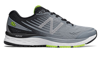 New Balance Men's 880 V8 Wide (2E) - Grey/Black (M880GY8 2E)