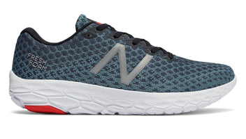 New Balance Men's Fresh Foam Beacon - Petrol/Flame/White (MBECNPF D)