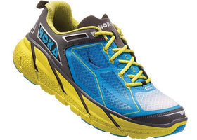 Hoka One One Men's Clifton 1 - Citrus/Cyan/Grey (1101943-CCGRY)