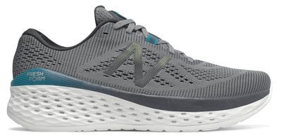 New Balance Men's Fresh Foam More - Gunmetal/Lead/Deep Ozone Blue (MMORDO)