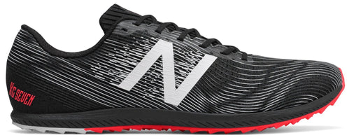 New Balance Men's XC Seven Spikeless - Black/Bright Cherry (MXCR7BP D)