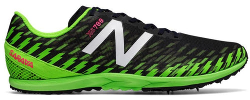 New Balance Men's XC 700 V5 Spike - Thunder/Energy Lime (MXCS700F D)