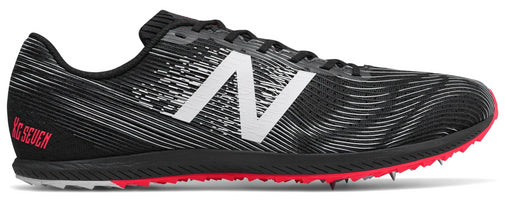 New Balance Men's XC Seven - Black/Bright Cherry (MXCS7BP D)