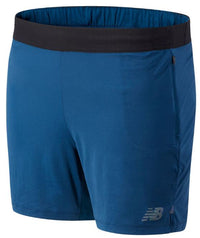 New Balance Men's Q Speed Fuel Short - Rogue Wave (MS03263-RGV)