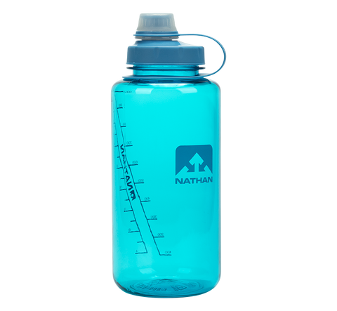 Nathan Sport BigShot 32 oz Hydration Bottle - Blue Radiance (4321NBR)