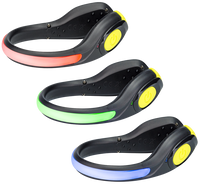 Nathan LightSpur RX LED Foot Light - Black/Safety Yellow (5089NBSY)