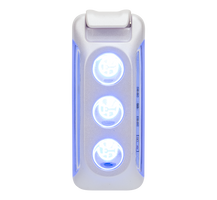 Nathan Lux Strobe RX LED Clip Light - White (NS5095-0222)