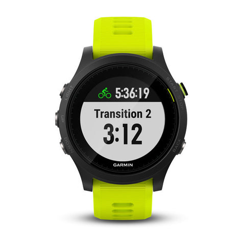 Garmin Forerunner 935 Tri Bundle - Black/Yellow (010-01746-02)