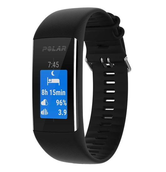 Polar A370 Fitness Tracker With Wrist-Based Heart Rate M/L - Black (90064907)