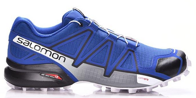 Salomon Men's Speedcross 4 - Mazarine Blue Wil/Black/White (L40464100)