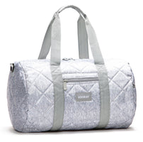 Vooray Roadie Quilted Duffel Bag - Gray Nylon (B.RD.QGN)