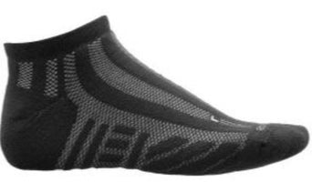 Saucony Men's Elite Ventilator No-Show Running Socks - Black (S12016-001)