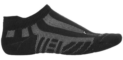 Saucony Women's Elite Ventilator No-Show Running Socks - Black (S12017-001)